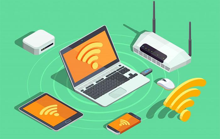 Bộ định tuyến cho phép nhiều thiết bị truy cập Internet cùng lúc