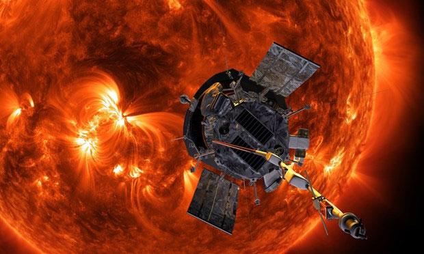 Tàu thăm dò Parker Solar tiếp cận gần hơn với bề mặt Mặt Trời.