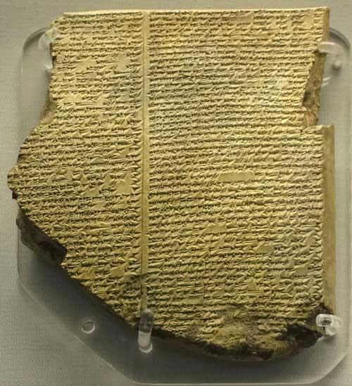 Tấm bảng đất sét trong Thư viện Hoàng gia Ashurbanipa