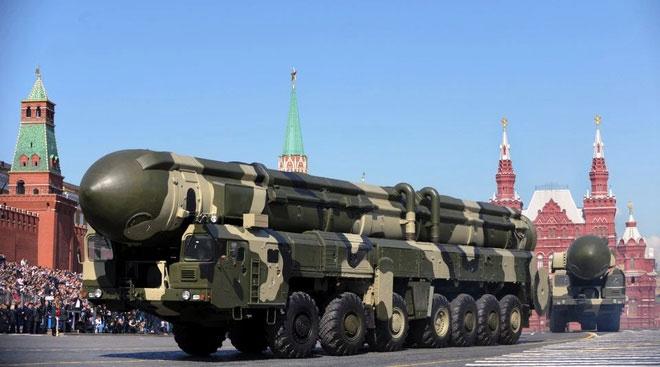 Moscow thể hiện sức mạnh quân sự của mình tại cuộc diễu hành mừng Ngày Chiến thắng năm 2019.