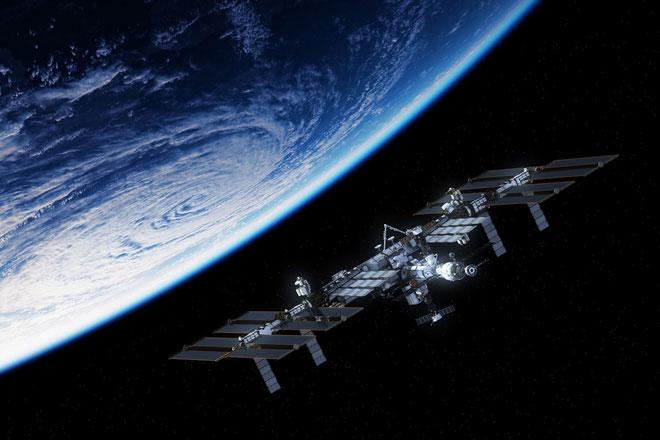 Trạm Vũ trụ Quốc tế.