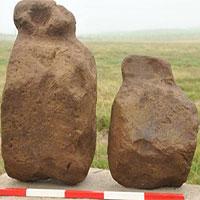 Phát hiện 9 tượng đá 4.000 năm tuổi