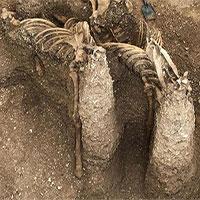 Mộ chiến binh ngồi trên xe ngựa 2.000 năm tuổi