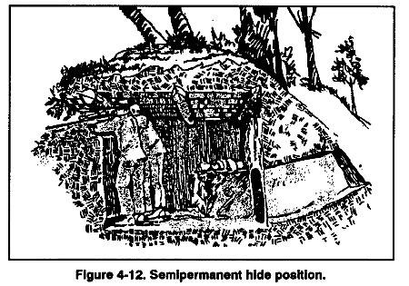 Một ví dụ về lều trinh thám.