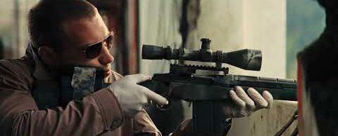Trong các bộ phim thường cho thấy những người lính thiện xạ nổ súng rất lộ liễu.