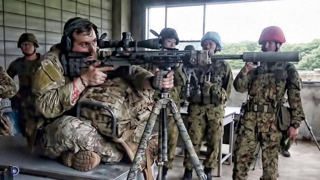Luyện tập là một trong những chìa khóa cho những người lính bắn tỉa.
