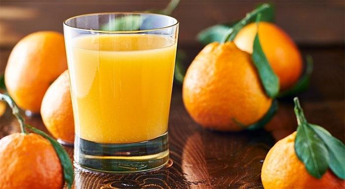 Nước cam an toàn cho cơ thể và không tăng calo dư thừa.