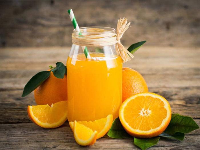 Nước cam ngăn ngừa được các gốc tự do gây hại cho cơ thể.