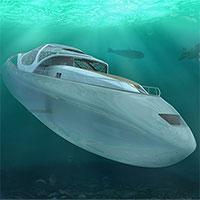 Siêu du thuyền lai tàu ngầm có thể lặn sâu 300m