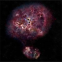 Phát hiện thiên hà cách Trái đất 13 tỷ năm ánh sáng