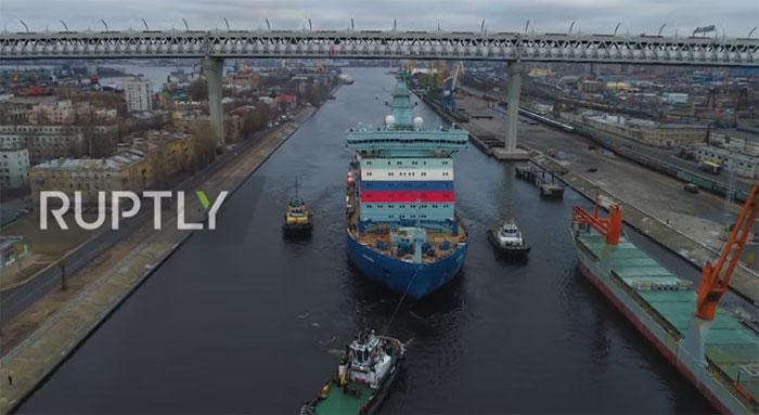 Arktika sẽ sử dụng động cơ diesel trong các thử nghiệm đầu tiên.