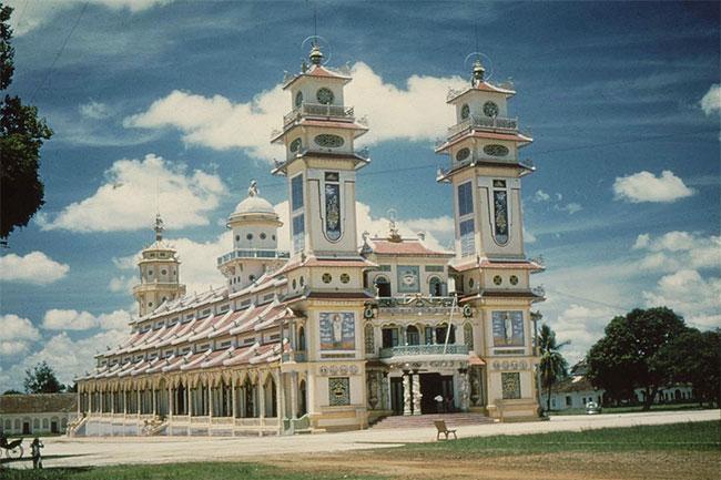 Tòa thánh của đạo Cao Đài ở Tây Ninh.