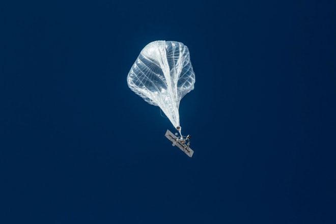 Phủ sóng mạng Internet thông qua những quả khí cầu
