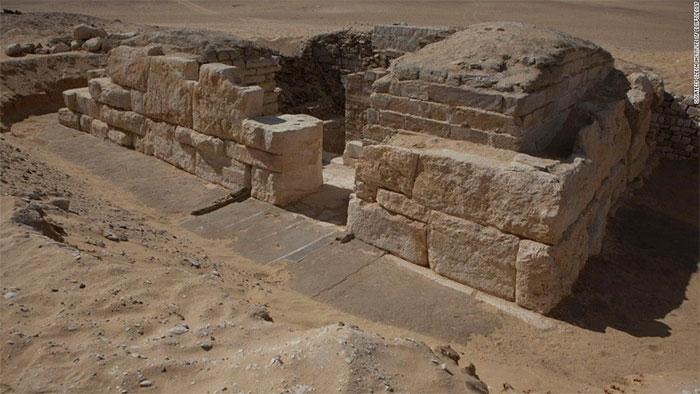 Lăng mộ này chứa nhiều bí ẩn