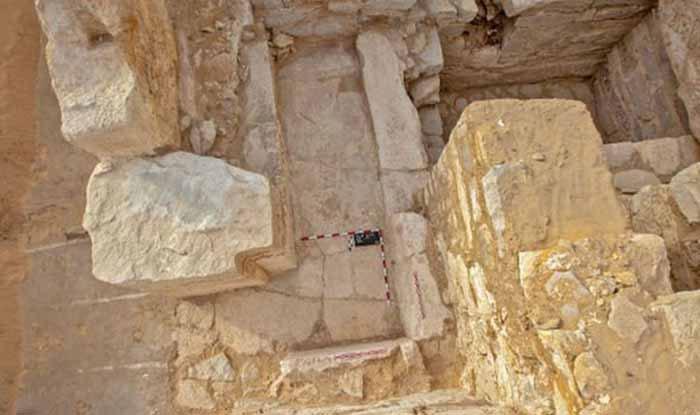 Lăng mộ được phát hiện năm 2016.