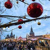 Mùa Giáng sinh kỳ quái ở Matxcơva: Không có tuyết rơi