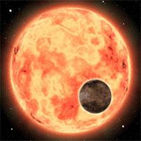 """Siêu Trái đất nóng hơn 1800 độ xuất hiện cạnh """"bản sao Mặt trời"""""""