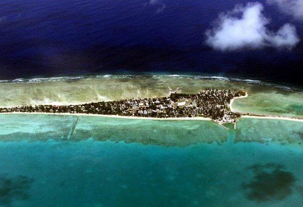 Quốc đảo Kiribati là một trong ba địa điểm đón năm mới 2020 sớm nhất.