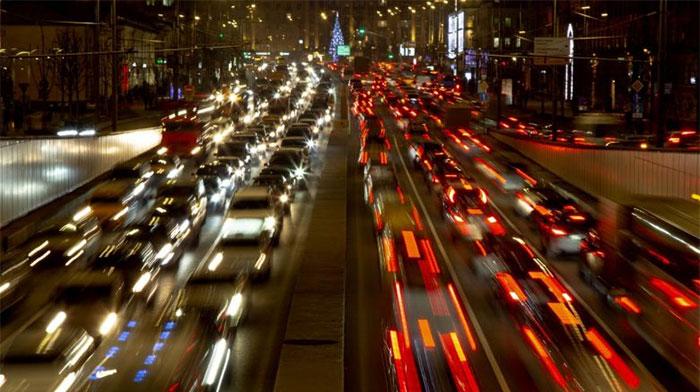 Teach computer traffic forecast like weather