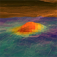 Bằng chứng mới tiết lộ núi lửa đang hoạt động trên sao Kim
