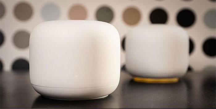Google Nest Wifi.