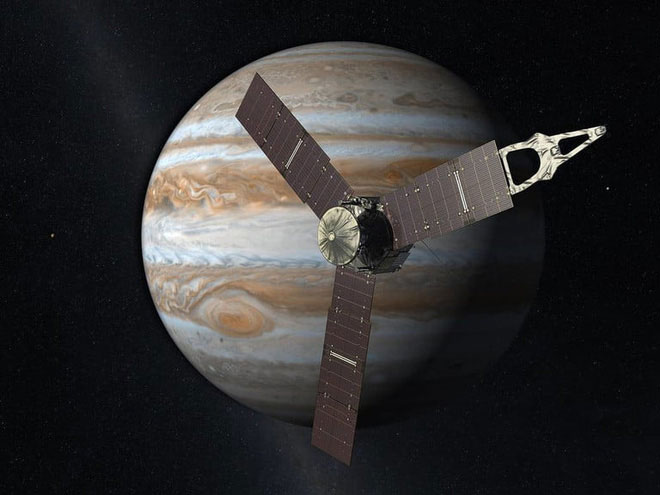 Tàu Juno tới thăm sao Mộc vào năm 2016
