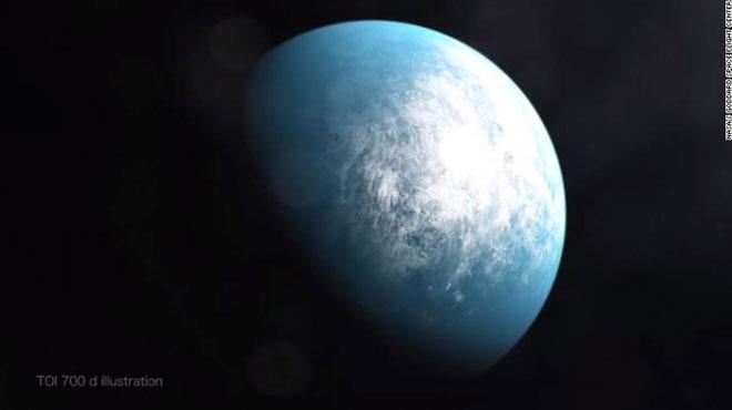 Ảnh minh họa hành tinh TOI 700 d.