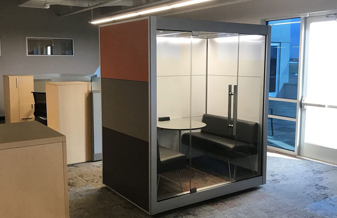 Những căn phòng tiêu âm tuyệt đối đã được ấp ủ từ thập niên 1960.