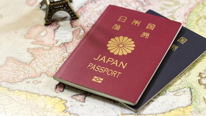 Hộ chiếu Nhật Bản quyền lực nhất thế giới.