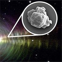 Bụi sao 7 tỷ năm tuổi trong thiên thạch đâm xuống Trái đất