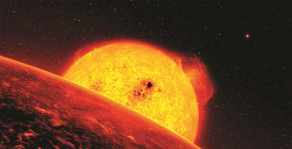 Sao đỏ khổng lồ.