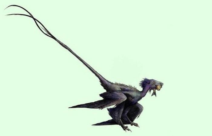 Con khủng long kỳ dị được các nhà khoa học tái hiện
