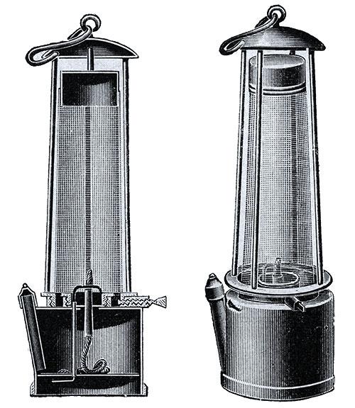 Đèn Davy, tiền thân của đèn sợi đốt hiện đại