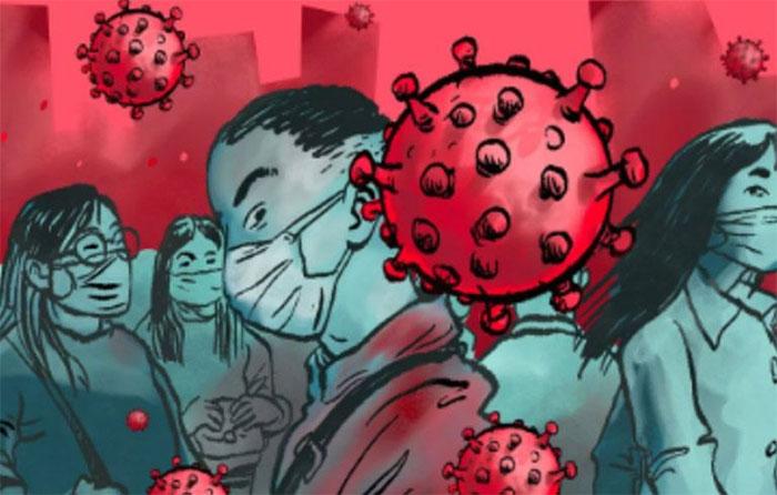 Virus corona có thể bị lây từ việc ai đó chạm tay vào một vật mà người bệnh chạm vào.