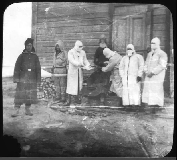 Dịch viêm phổi ở Cáp Nhĩ Tân bùng phát từ mùa đông 1910 và chấm dứt vào cuối tháng 3 năm sau.