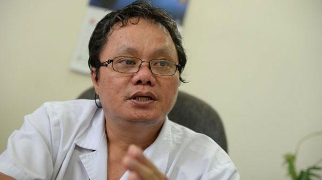 Bác sĩ Trương Hữu Khanh, Trưởng khoa Nhiễm - Thần kinh, Bệnh viện Nhi đồng 1 TP.HCM