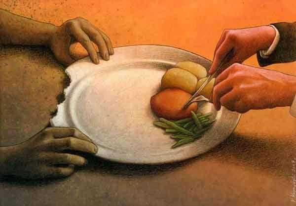 Khoảng cách giàu nghèo tưởng xa lạ nhưng thực sự đang hiện hữu ngay trong cuộc sống hàng ngày.
