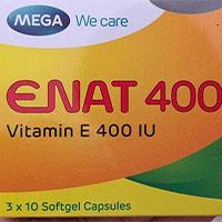Vitamin Enat 400 có tác dụng gì? Cách sử dụng vitamin E