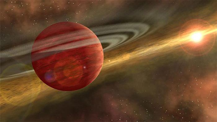 Đồ họa mô phỏng hành tinh khí 2MASS 1155-7919 b.