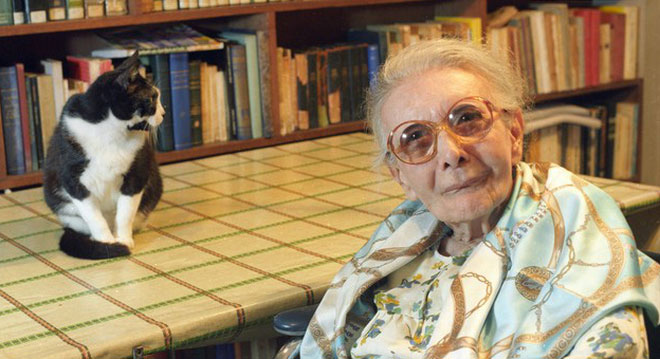 Nữ bác sĩ người Brazil Nise da Silveira (1905-1999).