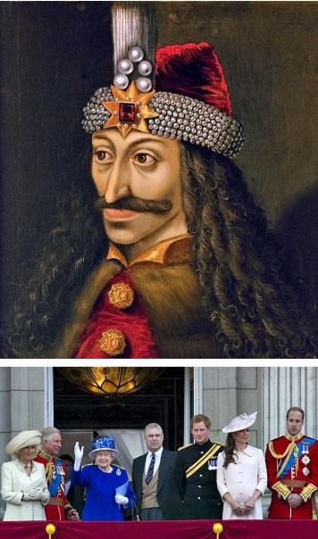 Nữ hoàng Elizabeth II có họ hàng với hoàng thân Vlad III Dracula