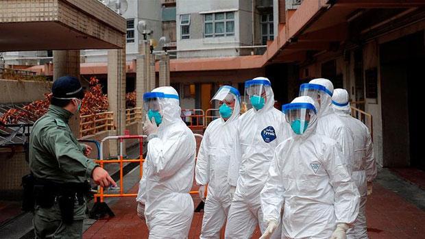Chủng virus mới lan truyền phần lớn thông qua đường giọt bắn.