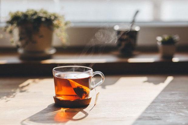 Trong trà có chứa thành phần polyphenol rất tốt cho cơ thể.