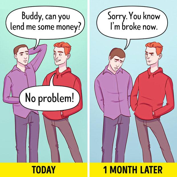Cẩn trọng khi cho vay tiền