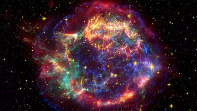 Những viên đạn vũ trụ có thể được bắn ra từ những siêu tân tinh.