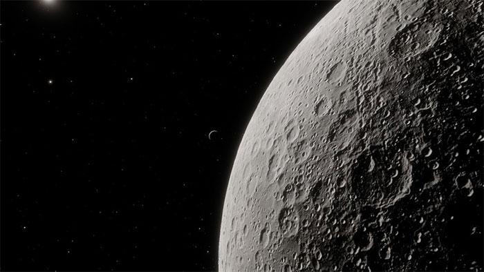 Khí quyển của Mặt Trăng rất mỏng và rất dễ bị phân rã vào vũ trụ