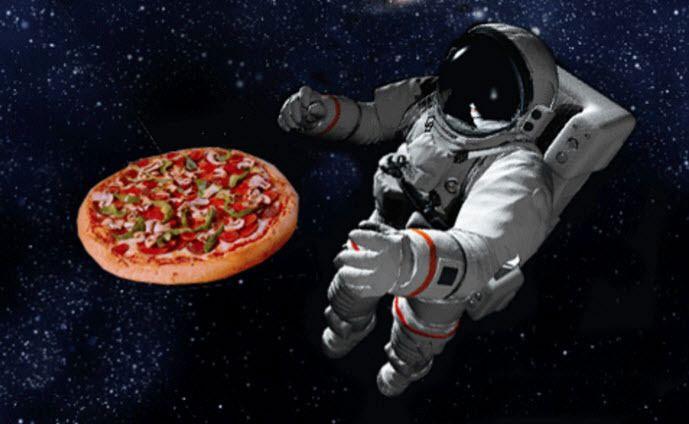 Pizza cho phi hành gia