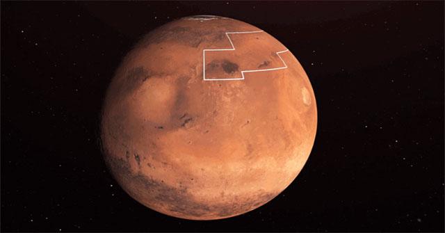 Bề mặt của sao Hỏa là một môi trường rất ôxy hóa, nặng phóng xạ