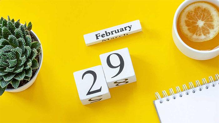 Ngày nhuận - Ngày đặc biệt mà 4 năm mới có một lần.