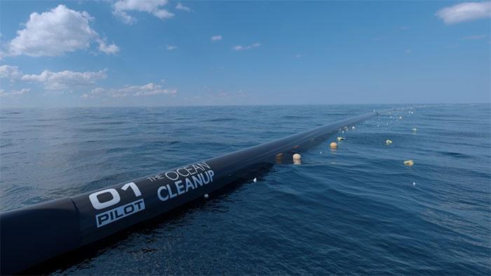 Dự án đầy tham vọng mong muốn dọn sạch Thái Bình Dương của chàng trai 16 tuổi.